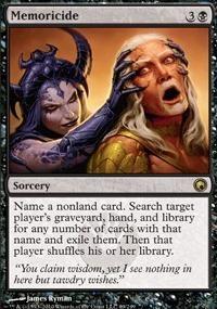 MTG Card: Memoricide