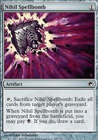 MTG Card: Nihil Spellbomb