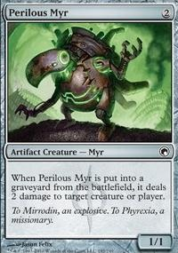 MTG Card: Perilous Myr