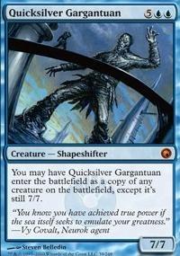 MTG Card: Quicksilver Gargantuan