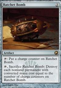 MTG Card: Ratchet Bomb