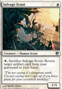 MTG Card: Salvage Scout
