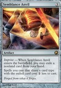 MTG Card: Semblance Anvil