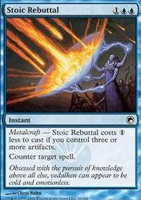 MTG Card: Stoic Rebuttal