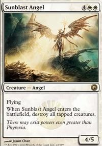 MTG Card: Sunblast Angel