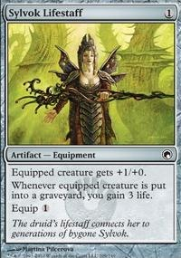 MTG Card: Sylvok Lifestaff