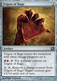 MTG Card: Trigon of Rage
