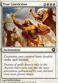 MTG Card: True Conviction