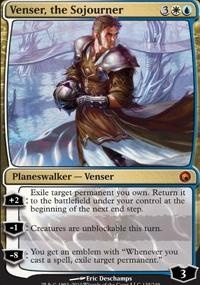 MTG Card: Venser, the Sojourner