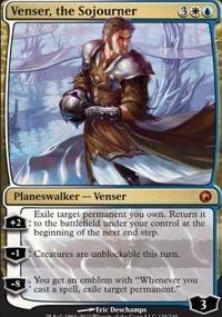 MTG Card: Venser, the Sojourner