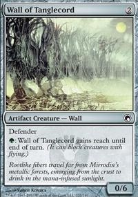MTG Card: Wall of Tanglecord