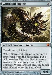 MTG Card: Wurmcoil Engine