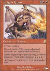 MTG Card: Dragon Tyrant