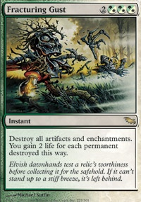 MTG Card: Fracturing Gust