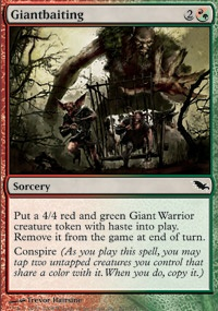 MTG Card: Giantbaiting