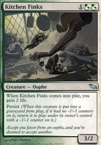MTG Card: Kitchen Finks