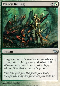 MTG Card: Mercy Killing