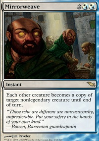 MTG Card: Mirrorweave