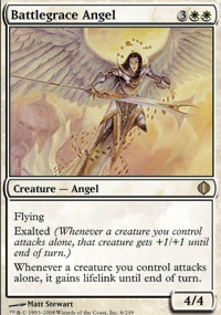 MTG Card: Battlegrace Angel