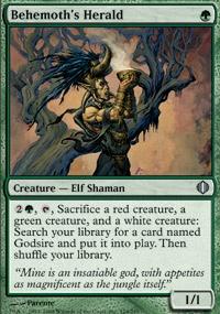 MTG Card: Behemoth's Herald