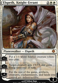 MTG Card: Elspeth, Knight-Errant