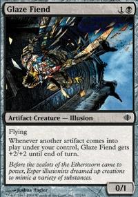 MTG Card: Glaze Fiend