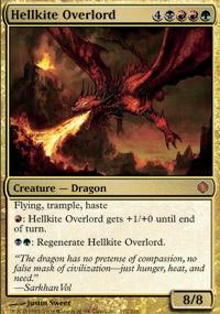 MTG Card: Hellkite Overlord