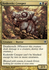 MTG Card: Kederekt Creeper