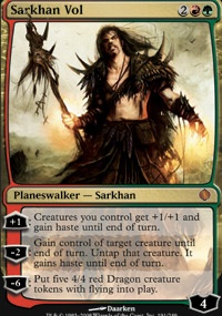 MTG Card: Sarkhan Vol