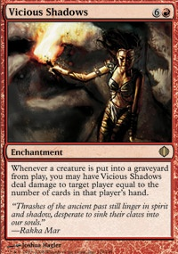 MTG Card: Vicious Shadows