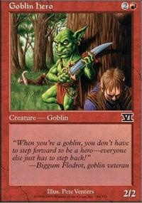 MTG Card: Goblin Hero