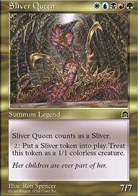 MTG Card: Sliver Queen
