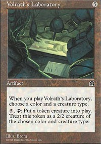 MTG Card: Volrath's Laboratory