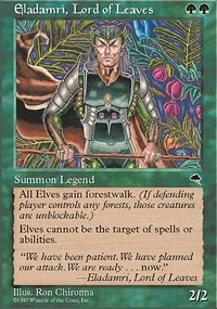 MTG Card: Eladamri, Lord of Leaves