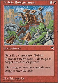 MTG Card: Goblin Bombardment