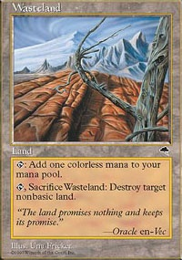 MTG Card: Wasteland