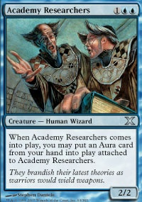 MTG Card: Academy Researchers