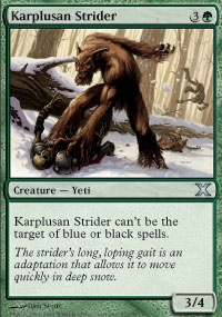 MTG Card: Karplusan Strider