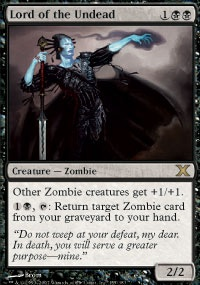 MTG Card: Lord of the Undead