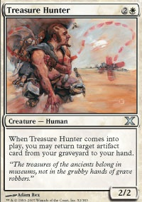 MTG Card: Treasure Hunter