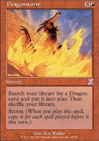 MTG Card: Dragonstorm