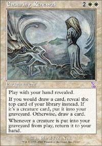 MTG Card: Enduring Renewal