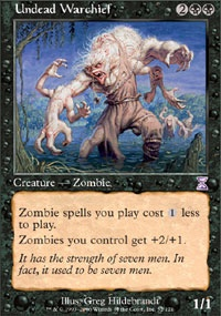 MTG Card: Undead Warchief