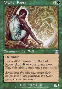 MTG Card: Wall of Roots