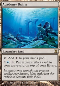 MTG Card: Academy Ruins
