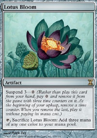 MTG Card: Lotus Bloom
