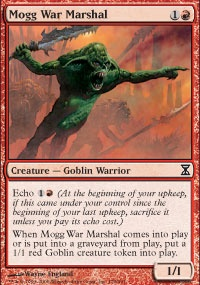 MTG Card: Mogg War Marshal