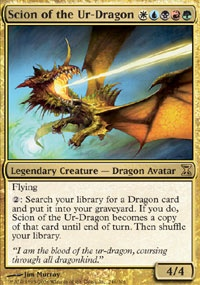 MTG Card: Scion of the Ur-Dragon