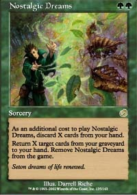 MTG Card: Nostalgic Dreams