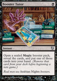 MTG Card: Booster Tutor